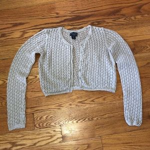 Abercrombie & Fitch Crop Knit Sweater